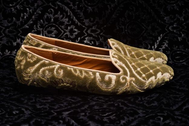 pantofola verde oliva nicolao atelier 4