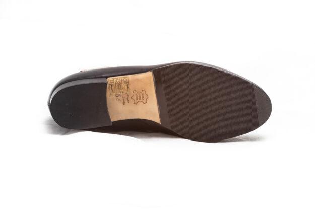 calzatura pantofola nera nicolao atelier venezia 4