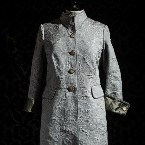 cappottino broccato di seta nicolao atelier venezia